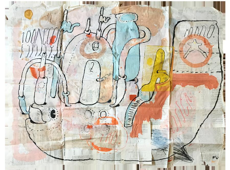 mail art project sergi serra mir & ariel diaz
