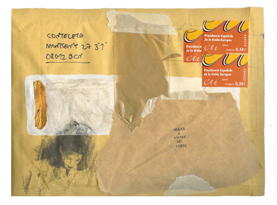 mail art project sergi serra mir & esther miquel