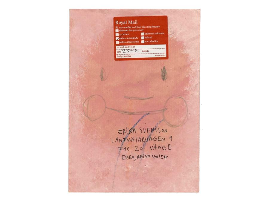mail art project sergi serra mir & erika svensson