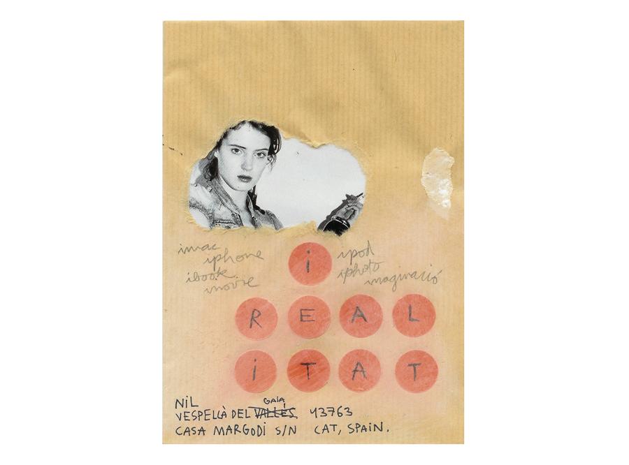 mail art project sergi serra mir & nil bartolozzi