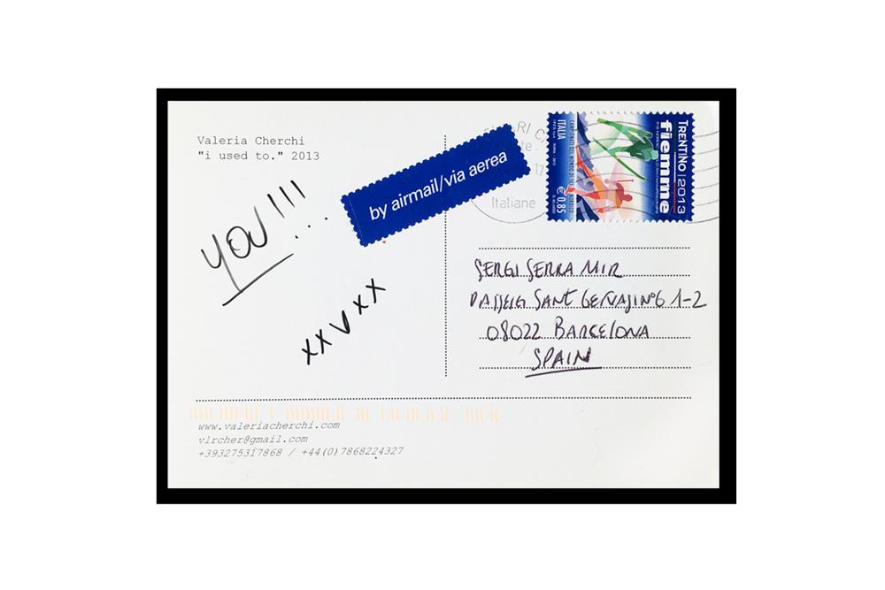 mail art project sergi serra mir & valeria cherchi